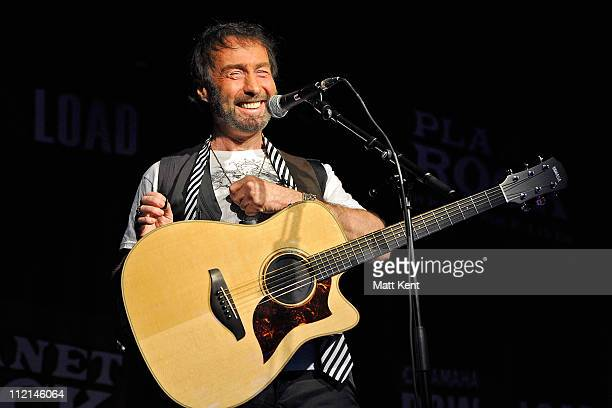 Paul Rodgers performs an intimate show for Planet Rock at Under The Bridge beneath Chelsea Football Club on April 13 2011 in London England