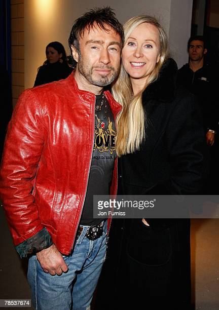 Paul Rodgers with his wife Cynthia attends the Led Zeppelin Tribute To Ahmet Ertegun concert held at the O2 Arena on December 10 2007 in London...