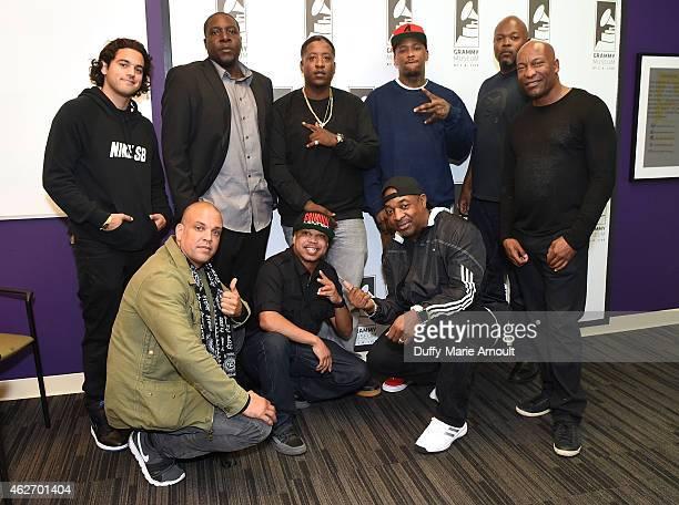 Paul Rodriguez QDIII Ray Luv Money B EDIDON YG Chuck D Cheo Coker and John Singleton attend All Eyez On Me Celebrating The Life And Legacy of Tupac...