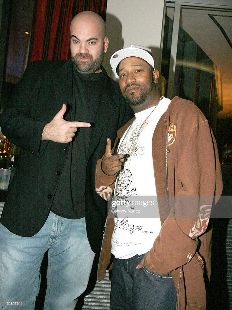 Paul Rosenberg and Bun B during Young Jeezy Launch Party at the Hugh