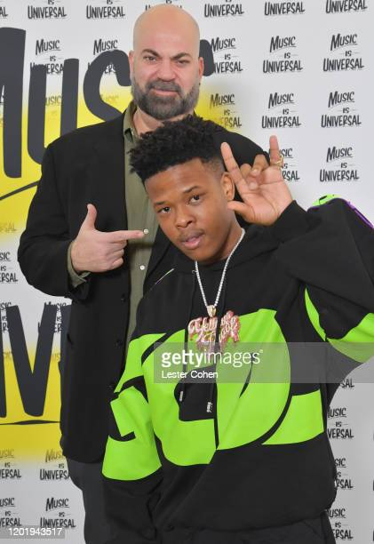 Paul Rosenberg and Nasty C attend Sir Lucian Grainge's 2020 Artist Showcase Presented By Citi and Lenovo at Milk Studios on January 25 2020 in...
