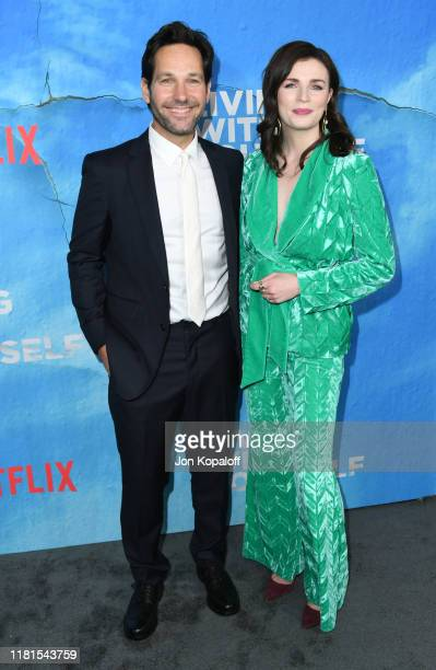 Paul Rudd and Aisling Bea attend the premiere of Netflix's Living With Yourself at ArcLight Hollywood on October 16 2019 in Hollywood California