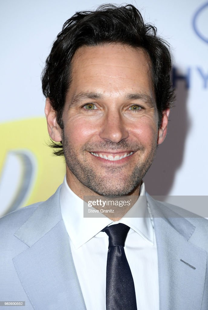 Paul Rudd arrives at the Premiere Of Disney And Marvel's 'Ant-Man And The Wasp' on June 25, 2018 in Hollywood, California.
