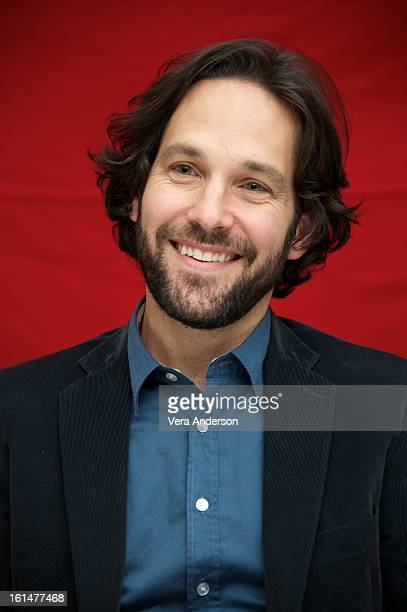 Paul Rudd at the 'Admission' Press Conference at the Four Seasons Hotel on February 8 2013 in New York City