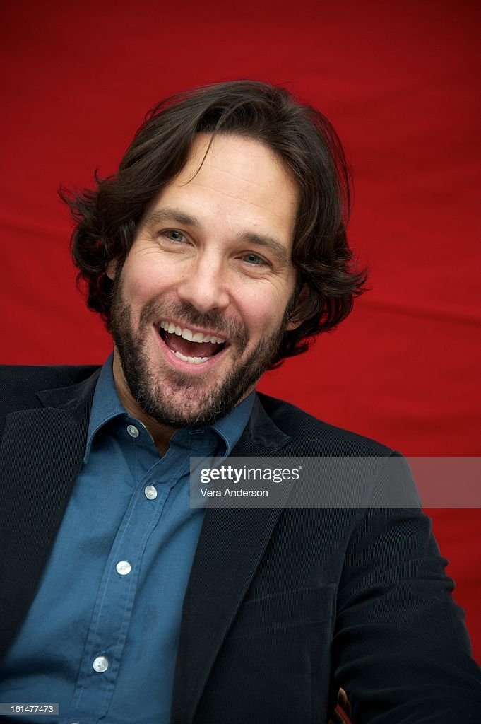 Paul Rudd at the 'Admission' Press Conference at the Four Seasons Hotel on February 8, 2013 in New York City.