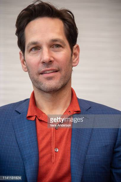 Paul Rudd at the Avengers Endgame Press Conference at the InterContinental Hotel on April 07 2019 in Los Angeles California