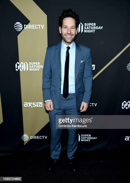 Paul Rudd attends DIRECTV Super Saturday Night 2019 at Atlantic Station on February 2, 2019 in Atlanta, Georgia.