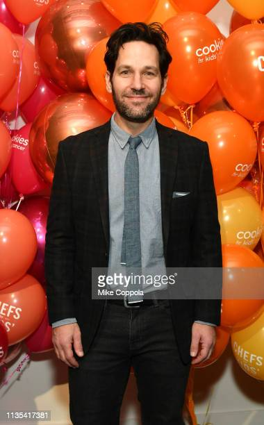 Paul Rudd attends the 2019 Chefs For Kids' Cancer at Metropolitan Pavilion Metro West on March 12 2019 in New York City