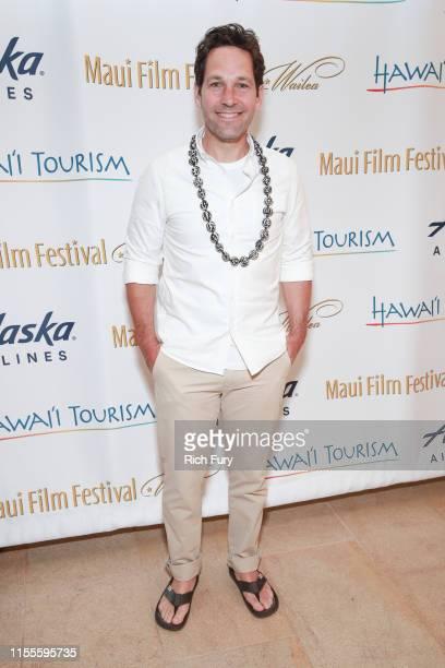 Paul Rudd attends the 2019 Maui Film Festival on June 12 2019 in Wailea Hawaii