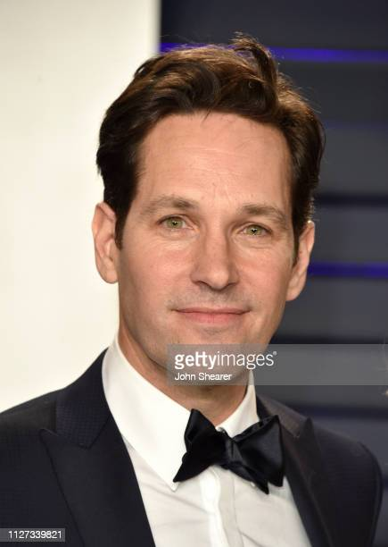 Paul Rudd attends the 2019 Vanity Fair Oscar Party hosted by Radhika Jones at Wallis Annenberg Center for the Performing Arts on February 24 2019 in...