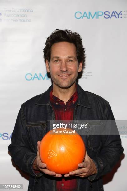 Paul Rudd attends the 7th Annual Paul Rudd AllStar Bowling Benefit for SAY at Lucky Strike Manhattan on November 5 2018 in New York City