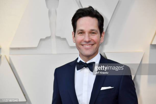 Paul Rudd attends the 91st Annual Academy Awards at Hollywood and Highland on February 24 2019 in Hollywood California