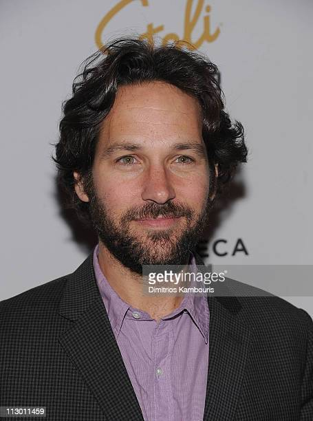 "Paul Rudd attends the after party for the premiere of ""The Good Doctor"" during the 10th annual Tribeca Film Festival at The Living Room on April 22,..."