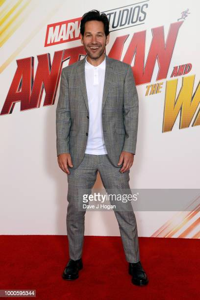 Paul Rudd attends the 'AntMan and the Wasp' photocall at The Corinthia Hotel on July 17 2018 in London England