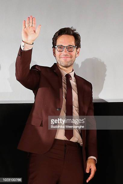 Paul Rudd attends the 'AntMan And The Wasp' premiere on August 23 2018 in Osaka Japan