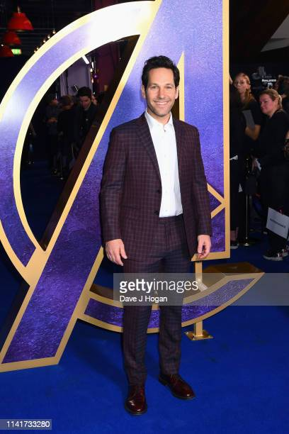 Paul Rudd attends the 'Avengers Endgame' UK Fan Event at Picturehouse Central on April 10 2019 in London England