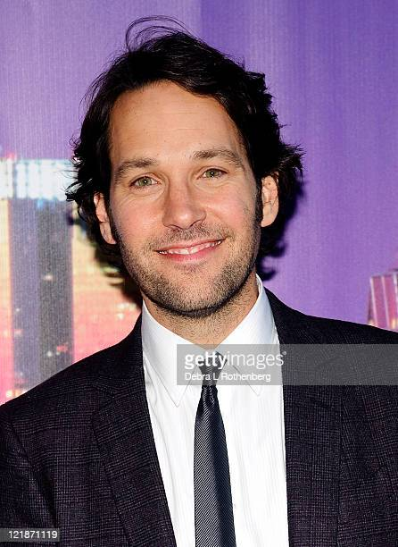 Paul Rudd attends The Cinema Society Altoids screening of The Weinstein Company's Our Idiot Brother at 1 MiMA Tower on August 22 2011 in New York City