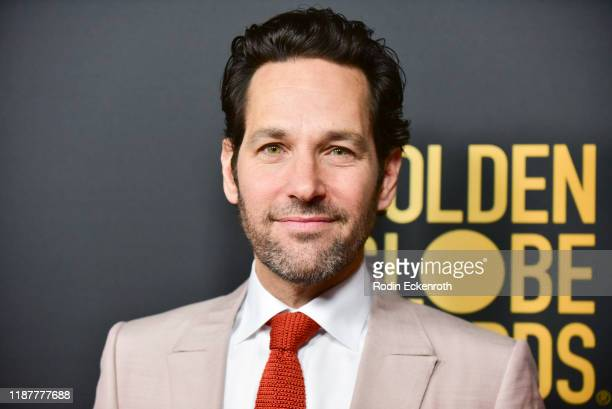 Paul Rudd attends the HFPA and THR Golden Globe Ambassador Party at Catch LA on November 14 2019 in West Hollywood California