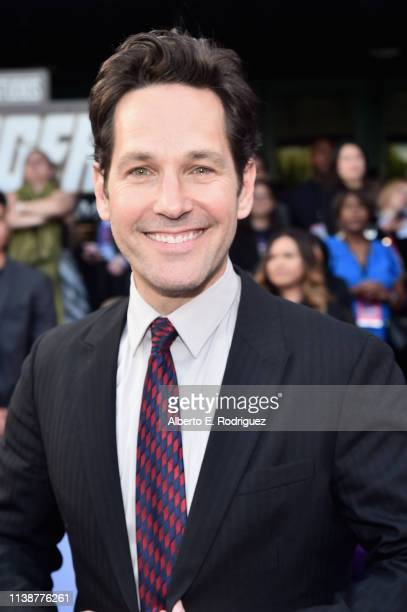Paul Rudd attends the Los Angeles World Premiere of Marvel Studios' Avengers Endgame at the Los Angeles Convention Center on April 23 2019 in Los...