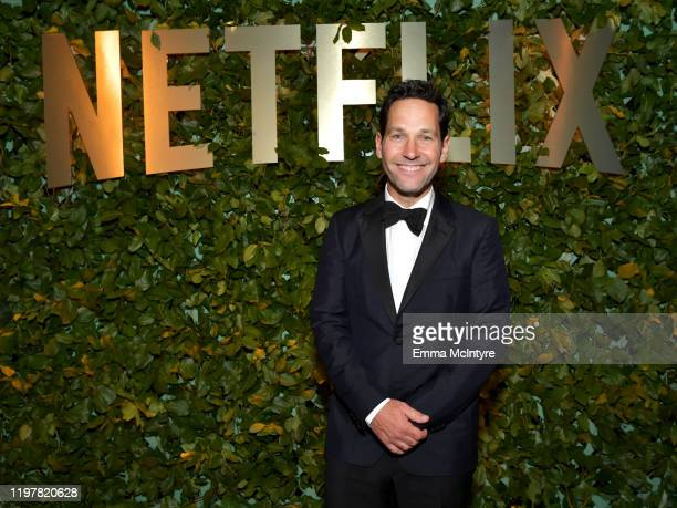 Paul Rudd attends the Netflix 2020 Golden Globes After Party on January 05 2020 in Los Angeles California