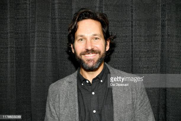 Paul Rudd attends the New York Comic Con at Jacob K Javits Convention Center on October 03 2019 in New York City