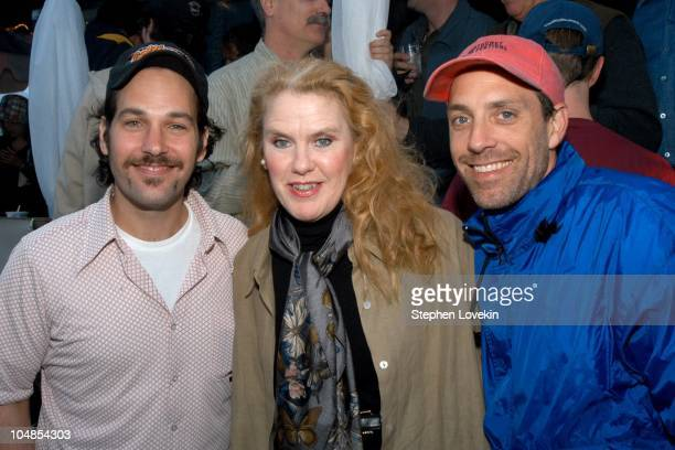 Paul Rudd Celia Weston and Jace Alexander during Nantucket Film Festival 8 Opening Night Party at Jettie's Beach in Nantucket Massachusetts United...
