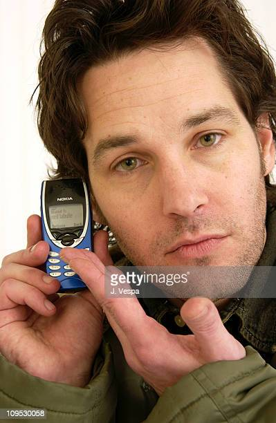 Paul Rudd during 2003 Sundance Film Festival 'The Shape of Things' Portraits at Yahoo Movies Portrait Studio in Park City Utah United States