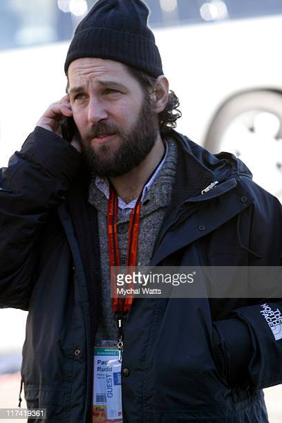 Paul Rudd during 2007 Park City - Seen Around Town - Day 2 at Streets of Park City in Park City, Utah, United States.