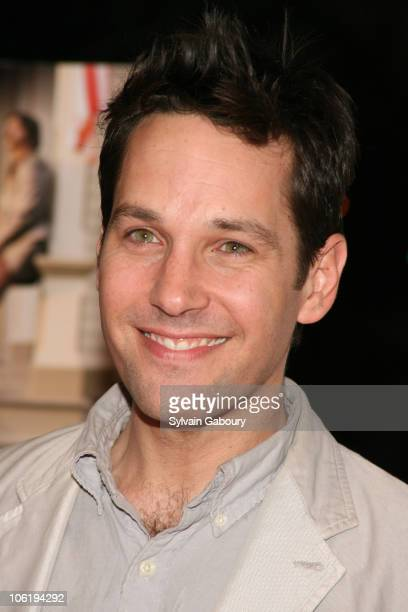 Paul Rudd during 'Diggers' New York Premiere Red Carpet at Clearview Chelsea West Cinemas in New York City New York United States