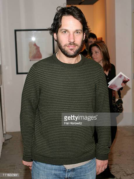 Paul Rudd during 'Take Home A Nude' Art Auction And Party Hosted By Eileen Guggenheim Rory And Elie Tahari And Phillipe and Denise Roederer October...