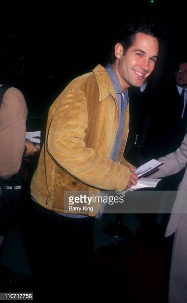 """Paul Rudd during """"The Crucible"""" Los Angeles Premiere at AMPAS Goldwyn Theater in Beverly Hills, California, United States."""