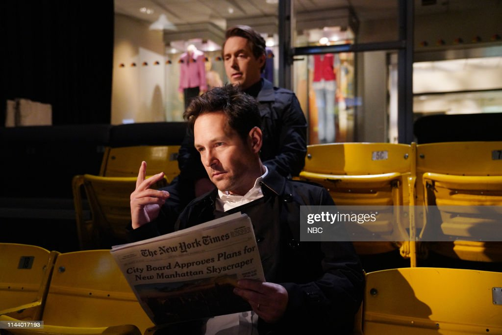 "NY: NBC'S ""Saturday Night Live"" - Paul Rudd, DJ Khaled"