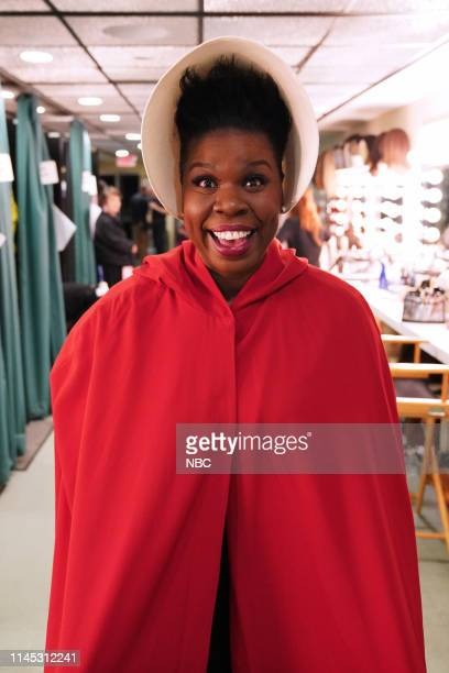 """Paul Rudd"""" Episode 1767 -- Pictured: Leslie Jones as a hand maiden, backstage in studio 8H on Saturday, May 18, 2019 --"""