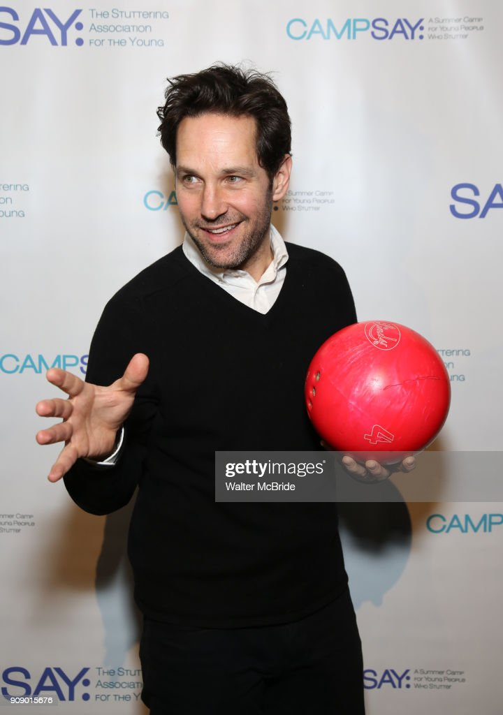 6th Annual Paul Rudd All Star Bowling Benefit For The Stuttering Association For The Young