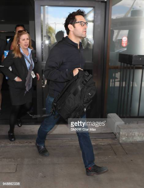 Paul Rudd is seen on April 19 2018 in Los Angeles CA