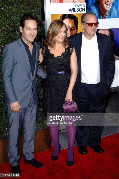 Paul Rudd, Julie Yaeger and Jack Nicholson attend World Premiere of Columbia Pictures' HOW DO YOU KNOW at Regency Village Theatre on December 13th,...