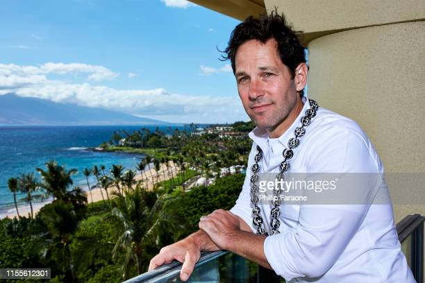Paul Rudd poses for a portrait during the 2019 Maui Film Festival on June 12, 2019 in Wailea, Hawaii. (Photo by Phillip Faraone/Contour by Getty...