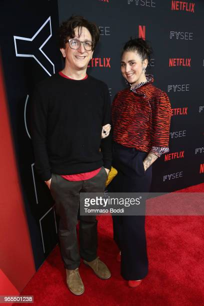 Paul Rust and Lesley Arfin attend the Netflix FYSEE Kick-Off Event at Netflix FYSEE At Raleigh Studios on May 6, 2018 in Los Angeles, California.