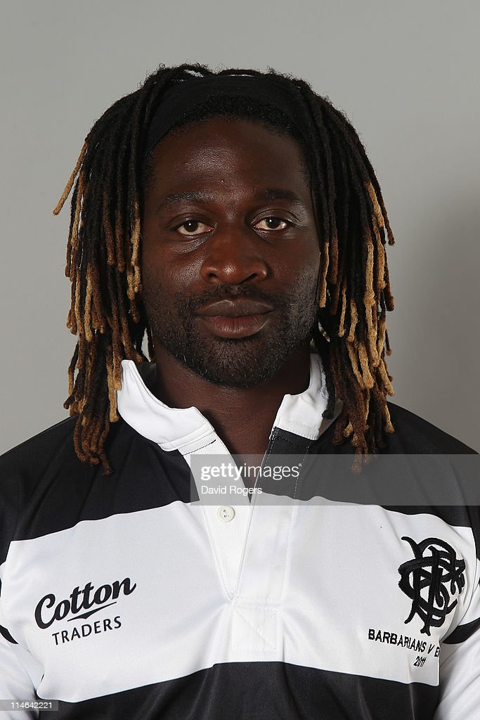 Paul Sackey of the Barbarians poses for a portrait at Richmond Athletic Ground on May 25, 2011 in Richmond upon Thames, England.