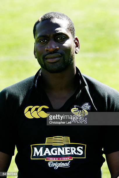 Paul Sackey pictured during London Wasps photocall at Twyford Avenue on August 30 in London England