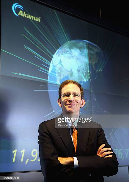 Paul Sagan CEO of Akamai Technologies in Cambridge Thursday Aug 11 2011