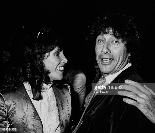 Paul Sands and Beth Howland attend Can't Stop The Music Party on April 10 1980 at the Directors Guild Theater in Hollywood California