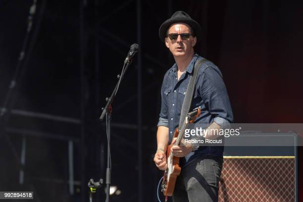 Paul Sayer of The Temperance Movement performs on stage during TRNSMT Festival Day 4 at Glasgow Green on July 6 2018 in Glasgow Scotland
