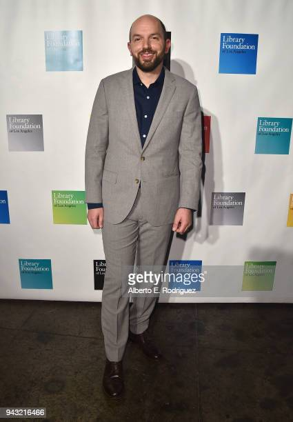 Paul Scheer attends the 10th Annual Young Literati Toast at Hudson Loft on April 7 2018 in Los Angeles California