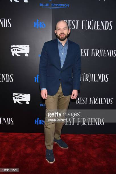 Paul Scheer attends the Best Fiends Los Angeles Premiere at the Egyptian Theatre on March 28 2018 in Hollywood California
