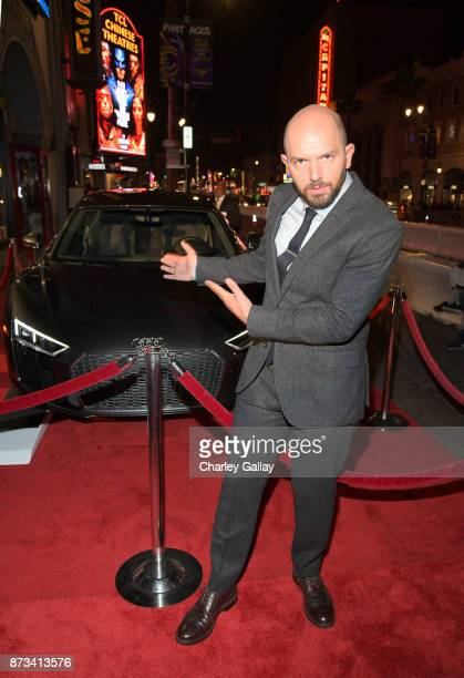 Paul Scheer attends 'The Disaster Artist' Presented by Audi at AFI Festival at The Hollywood Roosevelt Hotel on November 12 2017 in Los Angeles...
