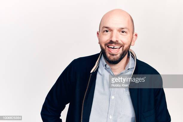 Paul Scheer of Crackle's 'Rob Riggle's Ski Master Academy' poses for a portrait during the 2018 Summer Television Critics Association Press Tour at...