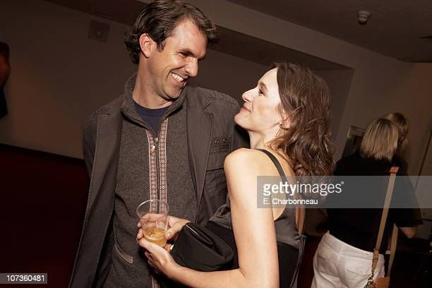 Paul Schneider and Emily Mortimer at the Premiere of Warner Bros 'The Assassination of Jesse James by the Coward Robert Ford' during the 2007 Toronto...