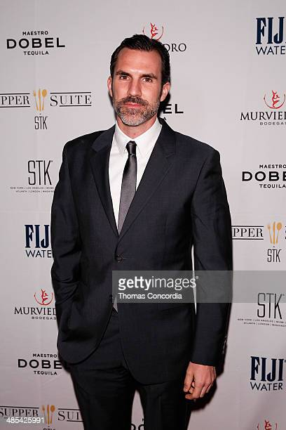 Paul Schneider attends the 'Goodbye To All That' Cast Premiere Party At Supper Suite By STK Hosted With Fiji Water And Dobel Tequila on April 17 2014...
