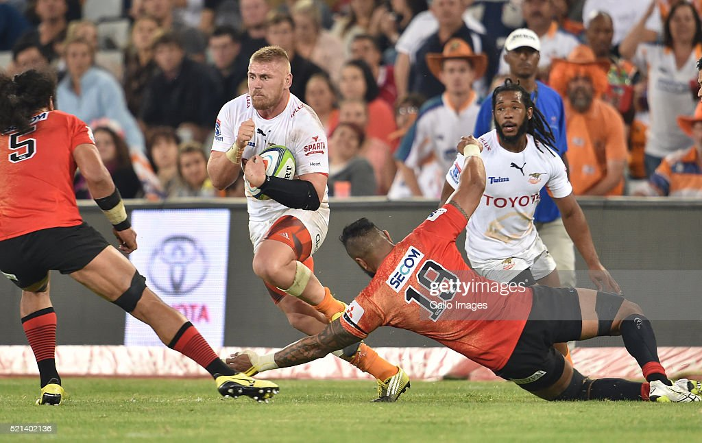 Super Rugby: Toyota Cheetahs v Sunwolves : ニュース写真